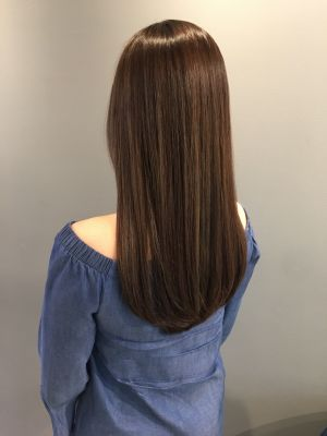 Women's haircut by Fumiyuki Tahara at AUBE hair New York in New York, NY 10011 on Frizo