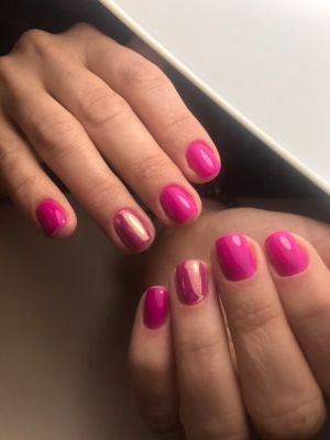 Shellac manicure by Karina Tsemkalo in Brooklyn, NY 11235 on Frizo