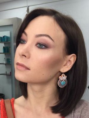 Evening makeup by Marina Zhestkov at Zebra in Brooklyn, NY 11223 on Frizo