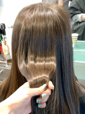Keratin treatment by Elena Shevchenko at U-Mode in Brooklyn, NY 11235 on Frizo