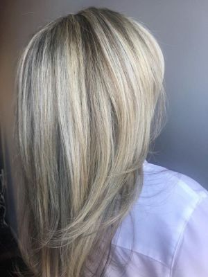 Partial highlights by Krysta Colella at KCo in Caldwell, NJ 07006 on Frizo