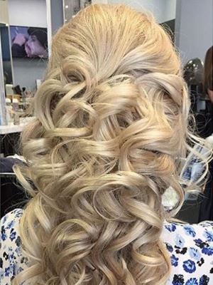 Bridal hair by Jessica Tartaglione in Towaco, NJ 07082 on Frizo