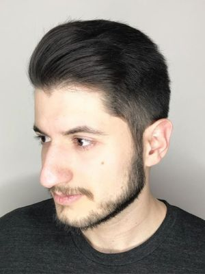Men's haircut by Sam Smith at SamSmithStyle in Colorado Springs, CO 80911 on Frizo
