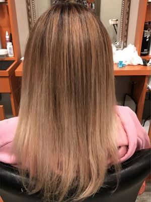Balayage by Alex Lopopolo at Opulence Salon in Bayport, NY 11705 on Frizo