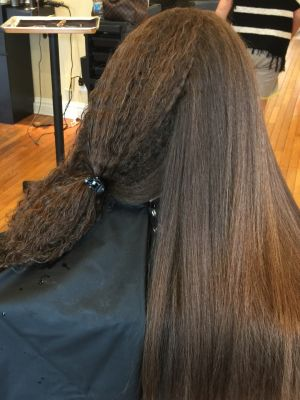 Brazilian blowout by Lisa DeRose Grossi at Beyond Hair LLC in Midland Park, NJ 07432 on Frizo