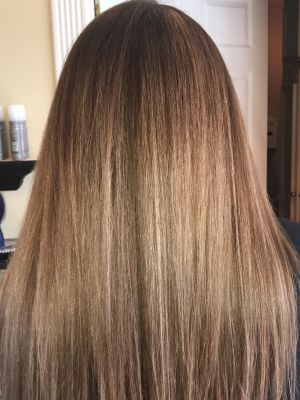 Double process by Lisa DeRose Grossi at Beyond Hair LLC in Midland Park, NJ 07432 on Frizo