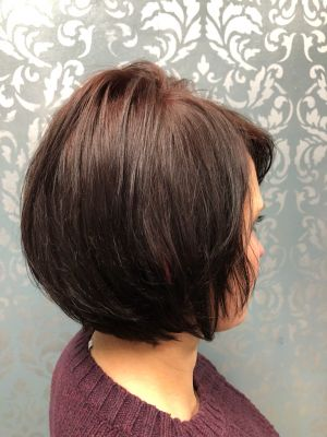 Single process by Lisa DeRose Grossi at Beyond Hair LLC in Midland Park, NJ 07432 on Frizo
