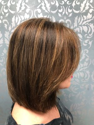 Women's haircut by Lisa DeRose Grossi at Beyond Hair LLC in Midland Park, NJ 07432 on Frizo
