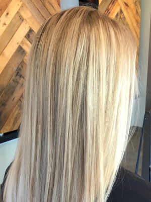 Partial highlights by Connie Nagle at Connie at StyleBar in Charlotte, NC 28203 on Frizo