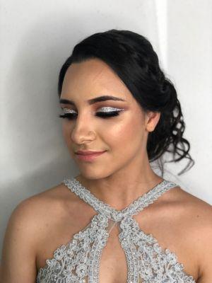 Prom makeup by Norma Zavala on Frizo