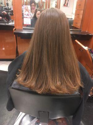 Womens Haircut By Melissa Pavlos