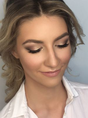 Bridal makeup by Valeria Leshkevich at U-Mode in Brooklyn, NY 11235 on Frizo
