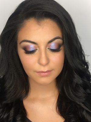 Evening makeup by Valeria Leshkevich at U-Mode in Brooklyn, NY 11235 on Frizo